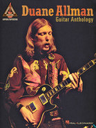 - Duane Allman: Guitar Anthology Sheet Music