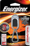 - Trailfinder LED Carabiner Clip Light - Silver