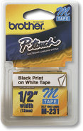 Brother - 1/2   Label Tape for Select P-Touch Elec