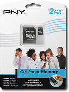 - 2GB microSD Memory Card