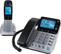 - DECT 60 Corded Phone System with Digital Answeri