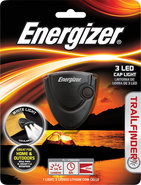 - Trailfinder 3-LED Cap Light - Black