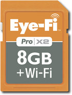 - Wireless PRO X2 8GB Secure Digital High Capacity