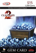- Guild Wars 2 Gem Card ($15)