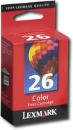 - Lexmark 26 Color Ink Cartridge - Multicolor