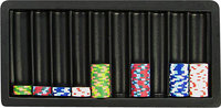 - 10-Row Blackjack Table Tray