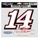 TONY STEWART 5 X6 ULTRA DECAL WINDOW CLING