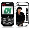 MusicSkins MS-MJ10044 BlackBerry Curve - 8520-8530