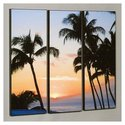 Three Piece Ka&#39;anapali Sunset Laminated Framed Wal
