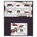Bats & Scouts - Mint Sheet of 6 & S/S Set MNH - 63