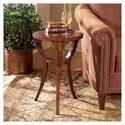 Plantation Cherry Accent Table with Veneer Inlay