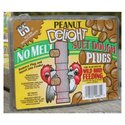 Peanut Delight Suet Dough Plug 12 Ounces - CS12680