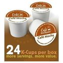 Cafe Escapes Cafe Mocha for Keurig Brewers, 24-Cou