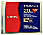 SONY Travan 20GB, Travan NS20 10/20 GB Data Tape,