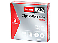 Iomega ZIP 250 MB Disk, PC/ MAC Formatted New and