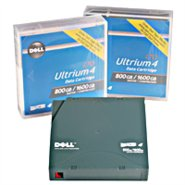 DELL LTO-4 Ultrium LTO4 Tape 800GB/1600GB, DELL L