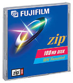 ZIP DISK FUJI 100MB PC