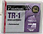 Imation TR-1 Travan 400/ 800GB Data Cartridge