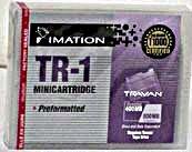 Imation TR-1 Travan 400/ 800GB Data Cartridge