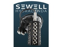 Sewell Hydraconda Stage Snake 12 XLR in 4 XLR Ret