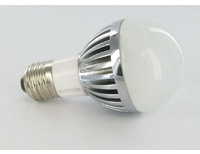 High Power LED Bulb 4W White E27 Base 90-260VAC