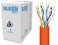 SolidRun by Sewell Bulk Cat5e Cable UTP 1000 ft.