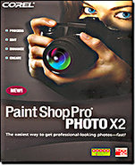 paint shop pro x2