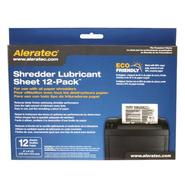 Shredder Lubricant Sheet 12-Pack