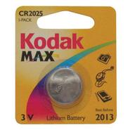 Max CR2025 Button Battery, 3.0 volt Lithium.