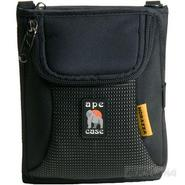 Digital Camera Case with Fold-out Wallet, Black.