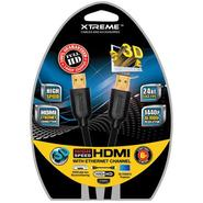 6' High Speed HDMI Cable with Ethernet