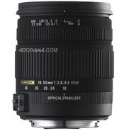 18-50mm f/2.8-4.5 DC OS HSM Standard Zoom Lens for