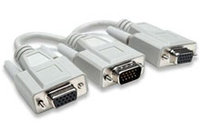 Video Y Splitter Cable: 1