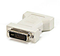 DVI-I 24+5 Male to HD15