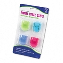 CLIP,WALL,PANEL,AST,4/PK