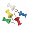 PUSHPIN,3/8,100/BX,AST