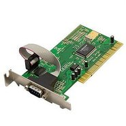 1 Serial Port Low Profile PCI Controller Card, Mos