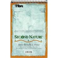 Second Nature Steno Book, Recycled, Gregg Rule, Wh