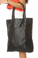Women's The Block Bag in Black, Bags (Handbags/Tot