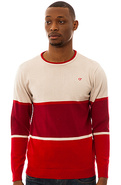 Men's The Syrius Sweater in Red, Sweaters