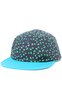 Men's The Palm Party Camper Cap in Blue, Hats