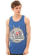 Men&#39;s The High Life Crew Tank in Blue, Tank Tops