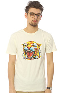 Men&#39;s The Tiger Tee in White, T-shirts