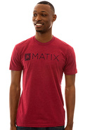 Men's The Monolin ID Tee in Cardinal, T-shirts