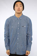 Men's The Heartwood Buttondown in Indigo, Buttondo