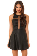 Women's The Crusade Dress in Black, Dresses