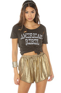 Women's The Blades of Glory Short in Gold, Shorts