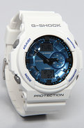 Men's The GA 150 Watch in White & Blue, Watches