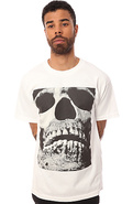 Men&#39;s The Skull Tee in White, T-shirts