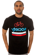 Men's The Tribesman Tee in Black, T-shirts